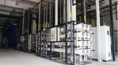中国电子科技集团重庆声光电有限公司水处理设备安装完成